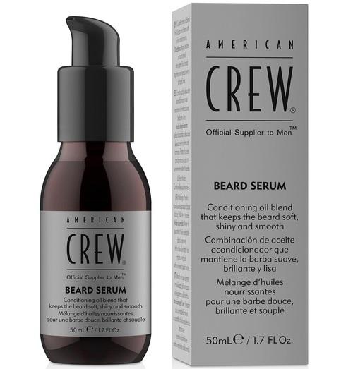 American Crew Shaving Skincare Beard Serum - vyživujúce olejové sérum na fúzy, 50 ml
