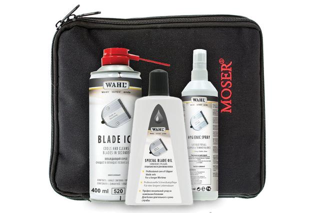 Moser 1000-7410 Wahl Blade Care Set - set na údržbu strihacích hláv strojčekov