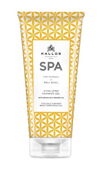 ​Kallos SPA Brazílie Orange shower gel - sprchový gel 200 ml DÁREK