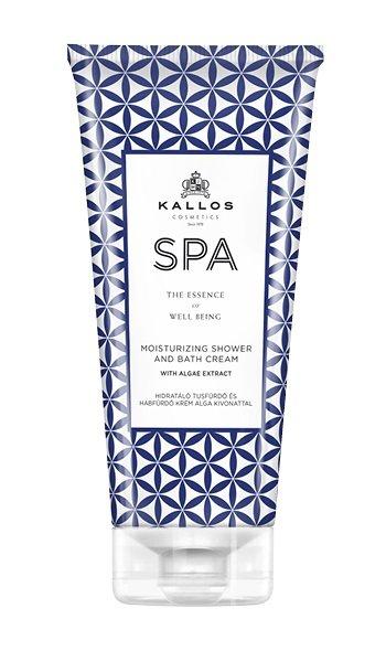 Kallos SPA Moisturizing Shower and Bath cream - hydratační sprchový krém a pěna do koupele s extraktem z řas 200 ml DÁREK