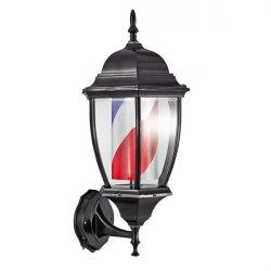 Barber Line Vintage Lantern Barber Pole 04745 - svetelný lampáš