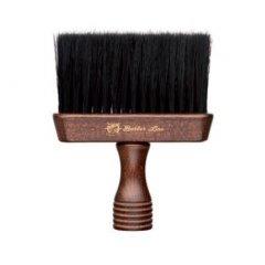 Barber Line Wooden Neck Brush Triton 06076 - dřevěný oprašovák na vlasy