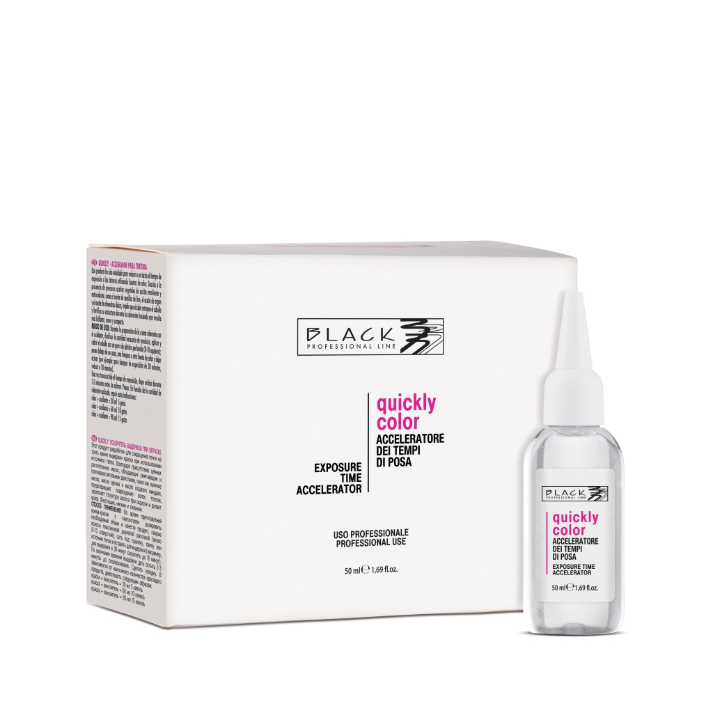 ​Black Quickly Color - urýchľovač farbenia, 50 ml