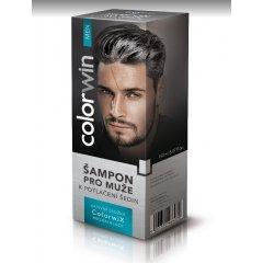 Colorwin Colorwix Brown Black shampoo - šampon pro muže k potlačení šedin hnědo - černý, 150 ml