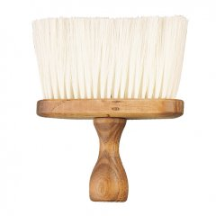 Eurostil Brush Barber Large 00306 - dřevěný oprašovák na vlasy