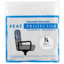 Eurostil Chair Back Protector 03634 - ochranná fólia na kadernícke kreslo, 50 ks
