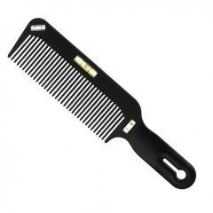 Eurostil Cutting Comb W/Levels 04349 - profesionálny hrebeň na vlasy, s vodováhou