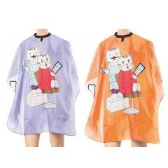 Eurostil Kid Cape Cats - pláštenka detská na strihanie, mačka, suchý zips