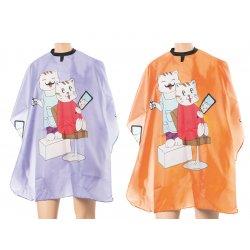 Eurostil Kid Cape Cats - pláštěnka dětská na stříhání, kočka, suchý zip