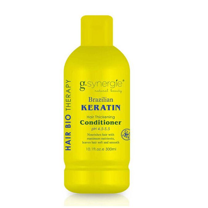 (EXP: 01/2021) G-synergie Brazilian Keratin conditioner - uhlazující kondicionér, 300 ml