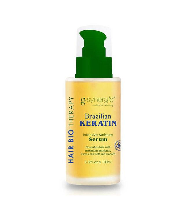 (EXP: 01/2021) G-synergie Brazilian Keratin Serum - keratínové posilňovacie sérum na uhladenie vlasov, 100 ml