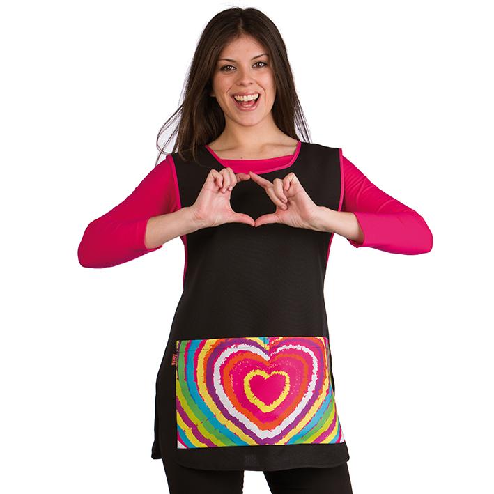 Lacla Gown Mod 21602109 One Size Fits All 06306/50 - kadeřnické šaty, univerzální velikost.