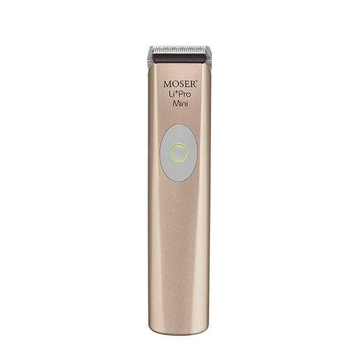 MOSER 1584-0053 Li + Pro Mini Rose - Gold - profesionálny kontúrovací strojček + Gembird - stlačený vzduch, 400 ml