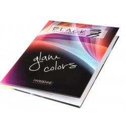 Black - vzorkovník k farbám Black Glam Colors