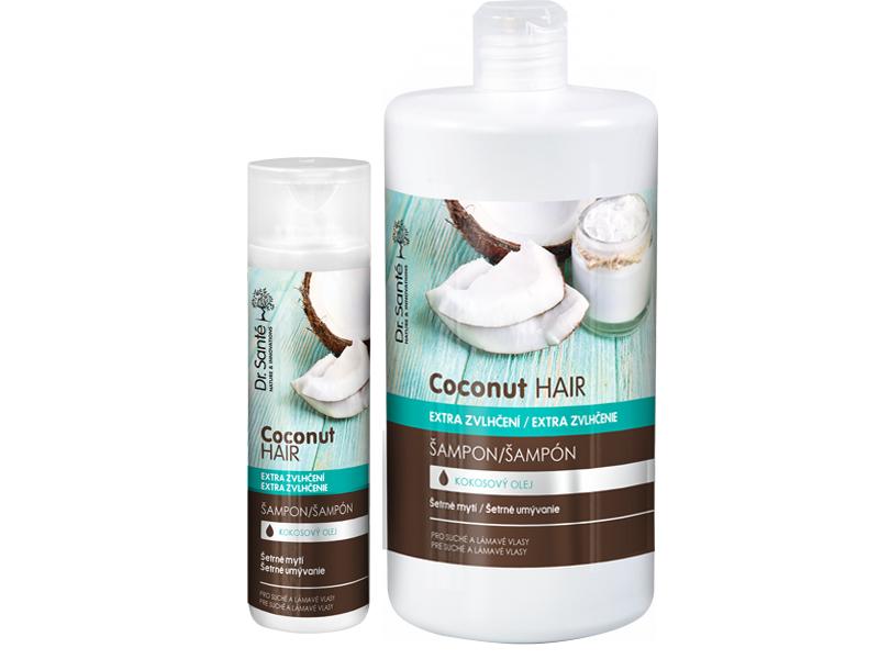 Dr. Santé Coconut Hair Shampoo - šampon na vlasy s výtažky kokosu pro suché a lámavé vlasy