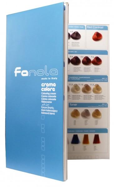 Fanola - vzorkovník k farbám Fanola
