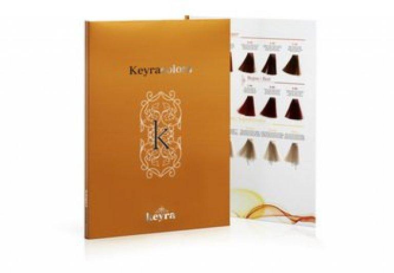 Keyra cosmetics - vzorkovník k farbám Keyra