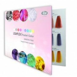 Lisap - vzorkovník k farbám Lisaplex pastel color