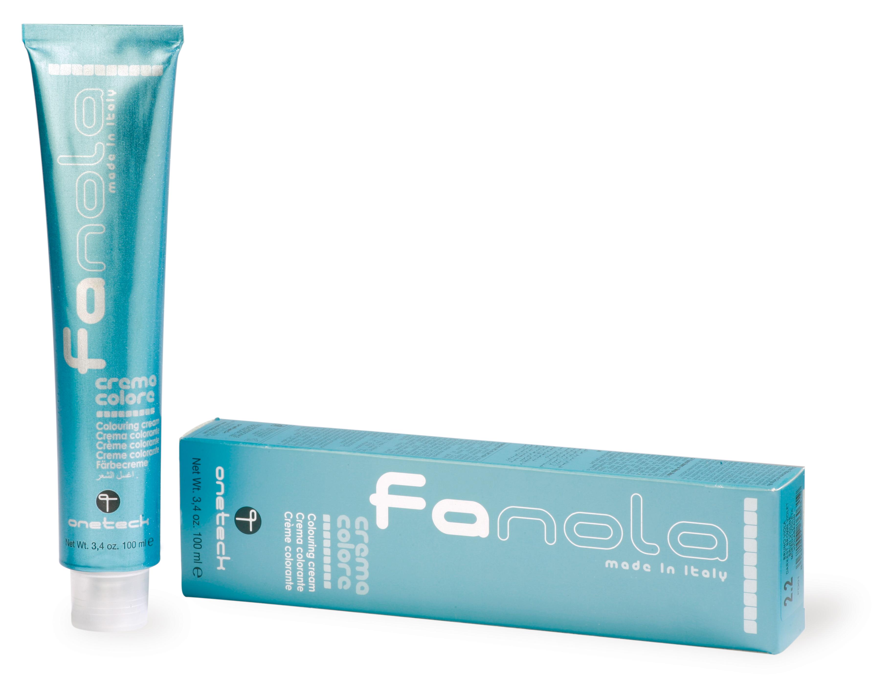 Profesionálna farba na vlasy Fanola professional