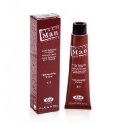 Lisap Man - profesionálna farba na vlasy pre mužov, 60 ml