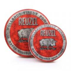 REUZEL Red Pomade Water Soluble - pomáda na vodnej báze s vysokým leskom a strednou fixáciou