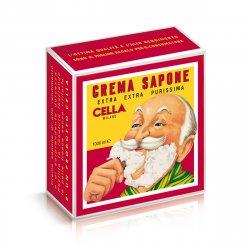 Cella Milano Crema Sapone - mandlové mýdlo na holení, 1000 ml