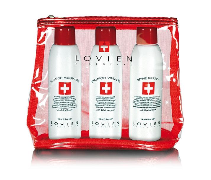 Lovien Beauty Kit 3x 150 ml - cestovné balenie - 2x šampón + maska