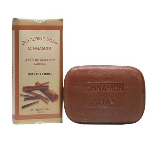 Murray & LanMan Glycerine Soap Cinnamon - mýdlo, 95 g