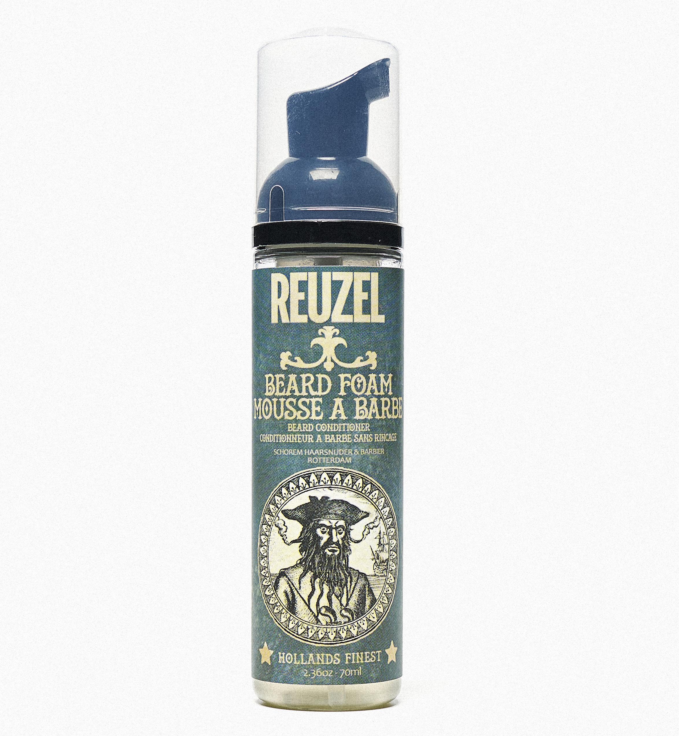 REUZEL Beard Foam - kondicionér na bradu s pěnovou konzistencí, 70 ml