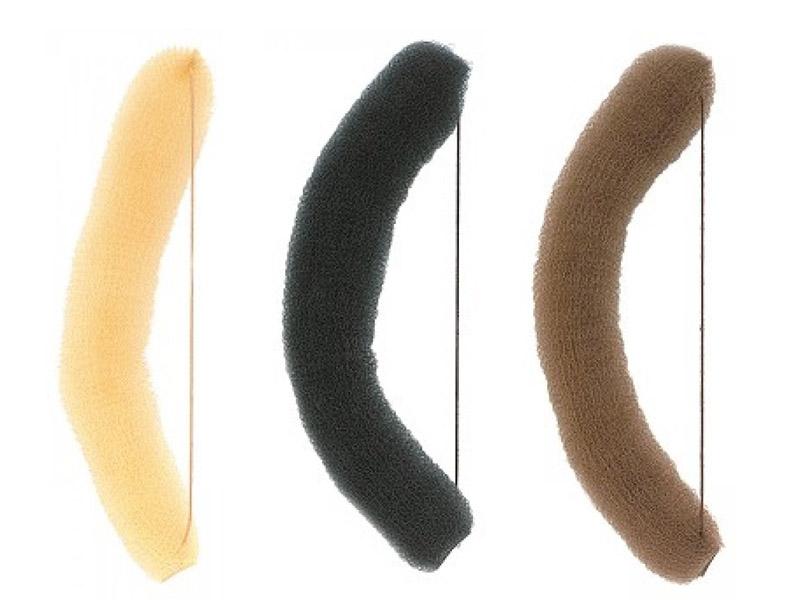 Výplň do vlasov banán s gumičkou, 18 cm