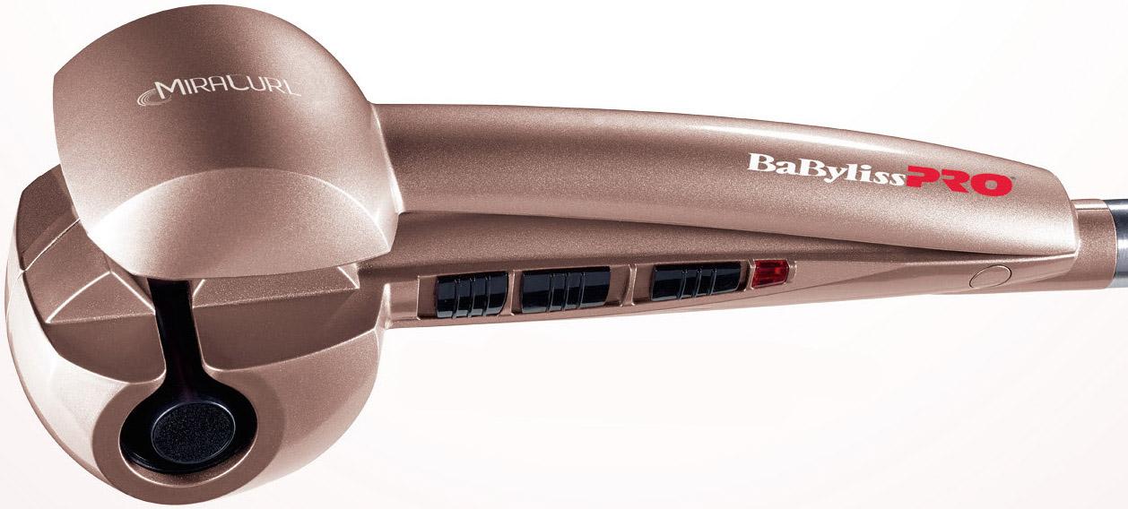BABYLISS PRO Miracurl® Limited Edition Rose Gold - automatická revoluční profesionální kulma na vlasy, zlato-růžová