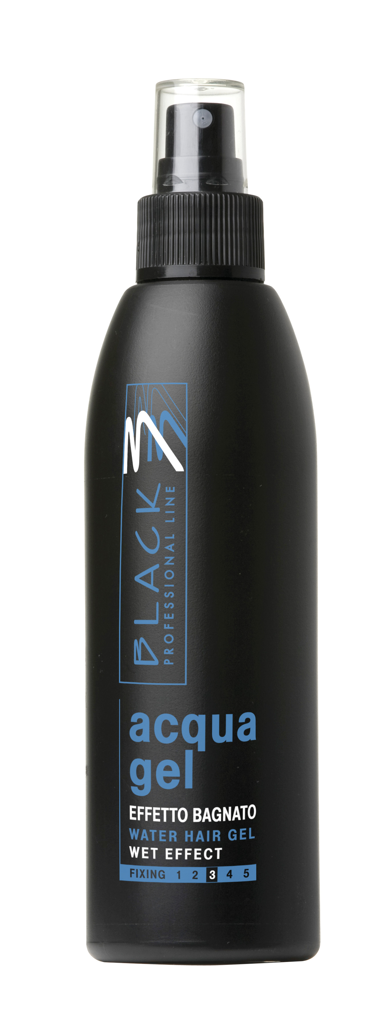 Black acqua gel - tekutý gel ve spreji 200 ml