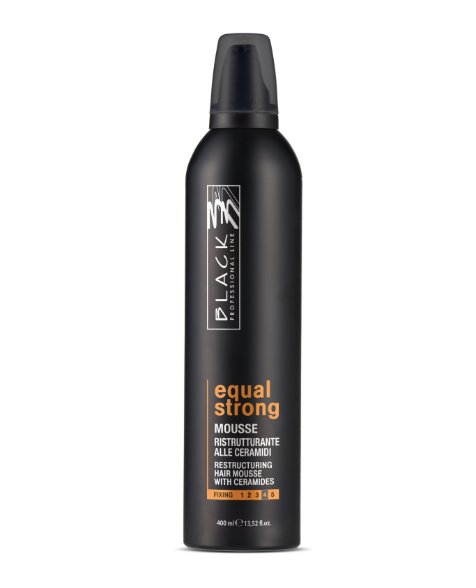 BLACK Styling Equal Mousse Forte 400 ml