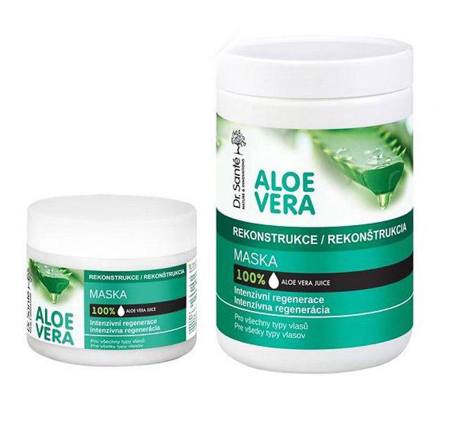 Dr. Santé Aloe Vera - maska na vlasy s výtažky aloe vera pro intenzivní regeneraci