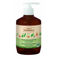 Green Pharmacy Aloe a Avokádo - tekuté krémové mýdlo zvlhčující pokožku, 460 ml
