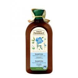 Green Pharmacy Harmanček a Ľanový olej - šampón pre farbené a melírované vlasy, 350 ml