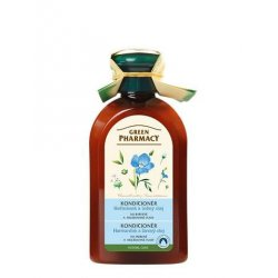 Green Pharmacy Heřmánek a Lněný olej - kondicionér pro barvené a melírované vlasy, 300 ml