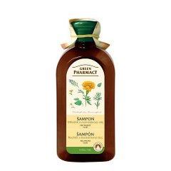 Green Pharmacy Nechtík a Rozmarínový olej - šampón pre mastné vlasy, 350 ml