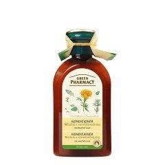 Green Pharmacy Nechtík a Rozmarínový olej - kondicionér pre mastné vlasy, 300 ml