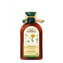 Green Pharmacy Měsíček a Rozmarýnový olej - kondicionér pro mastné vlasy, 300 ml