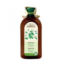 Green Pharmacy Kopřiva a olej z kořenů lopuchu - šampon pro normální vlasy, 350 ml