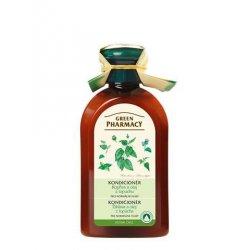 Green Pharmacy Kopřiva a olej z kořenů lopuchu - kondicionér pro normální vlasy, 300 ml