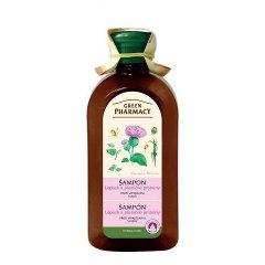 Green Pharmacy Lopúch a pšeničné proteíny - šampón proti vypadávaniu vlasov, 350 ml