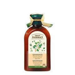Green Pharmacy Brezové púčiky a Ricínový olej - kondicionér proti lupinám, 300 ml