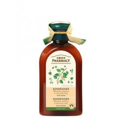 Green Pharmacy Březové pupeny a Ricinový olej - kondicionér proti lupům, 300 ml