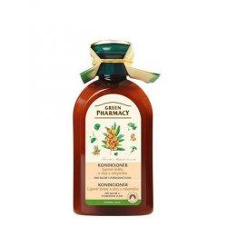 Green Pharmacy Lipové kvety a olej z Rakytníka - kondicionér pre suché a poškodené vlasy, 300 ml