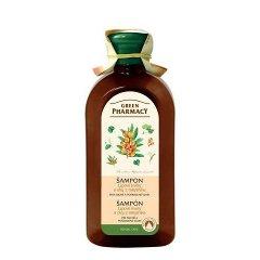 Green Pharmacy Lipové kvety a olej z Rakytníka - šampón pre suché a poškodené vlasy, 350 ml