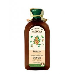 Green Pharmacy Lipové květy a olej z Rakytníku - šampon pro suché a poškozené vlasy, 350 ml