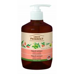 Green Pharmacy Oliva a Goji - tekuté mýdlo vyživující pokožku, 460 ml