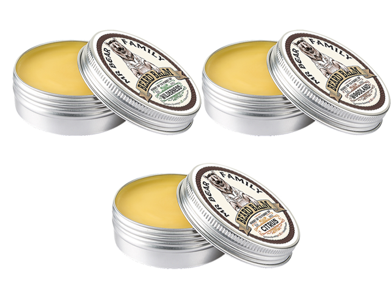 ​Mr. Bear Family Beard Balm - balzám na bradu, 60 ml